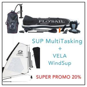 Sup MultiTasking + Vela Wind SUP